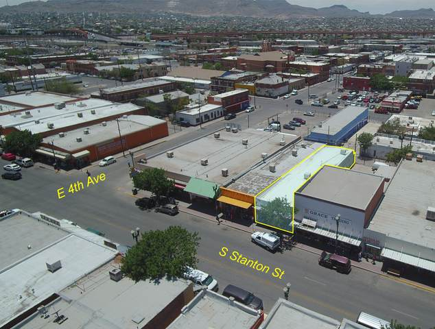 515 S Stanton Street, El Paso, TX 79901 (MLS #824411) :: The Purple House Real Estate Group