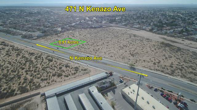 471 N Kenazo Avenue, El Paso, TX 79928 (MLS #824754) :: Preferred Closing Specialists