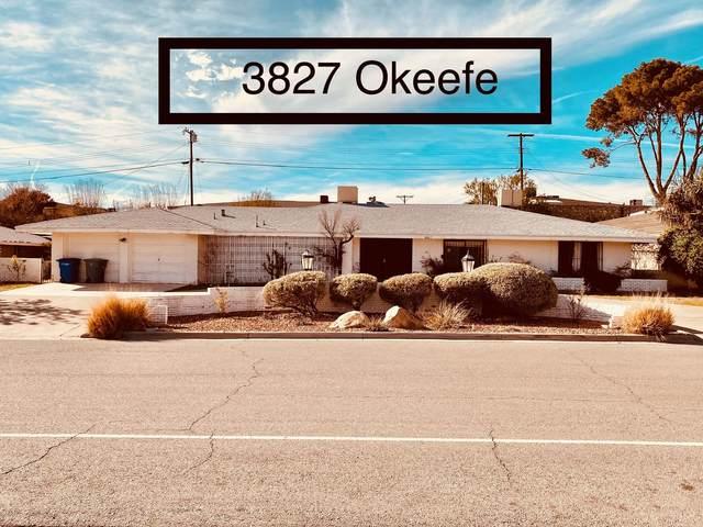 3827 Okeefe Drive, El Paso, TX 79902 (MLS #825274) :: Preferred Closing Specialists