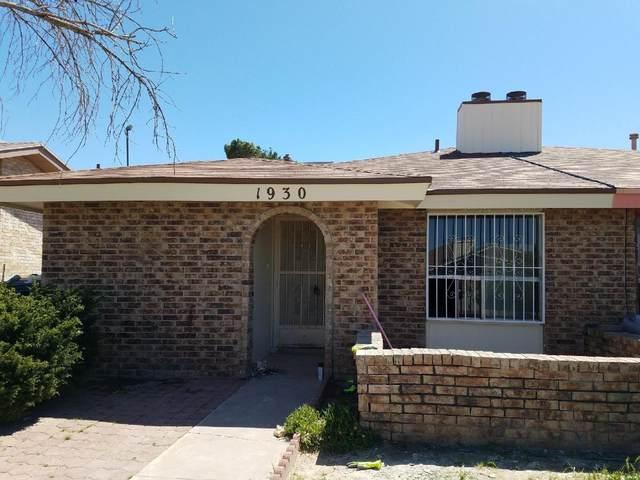 1930 Estrada Drive, El Paso, TX 79936 (MLS #825496) :: Preferred Closing Specialists