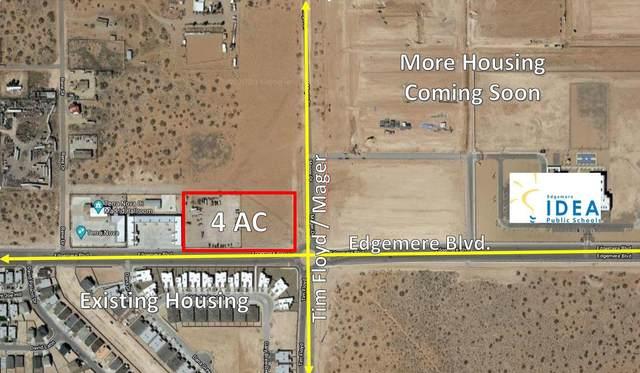 TBD Edgemere Boulevard, El Paso, TX 79938 (MLS #825728) :: Mario Ayala Real Estate Group