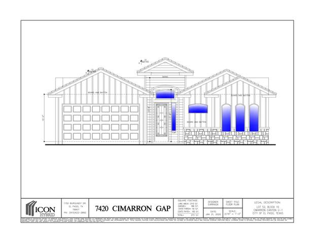 7420 Cimarron Gap Drive, El Paso, TX 79911 (MLS #825786) :: Mario Ayala Real Estate Group