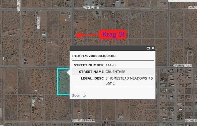 14490 Gruenther Road, El Paso, TX 79938 (MLS #825923) :: Jackie Stevens Real Estate Group brokered by eXp Realty