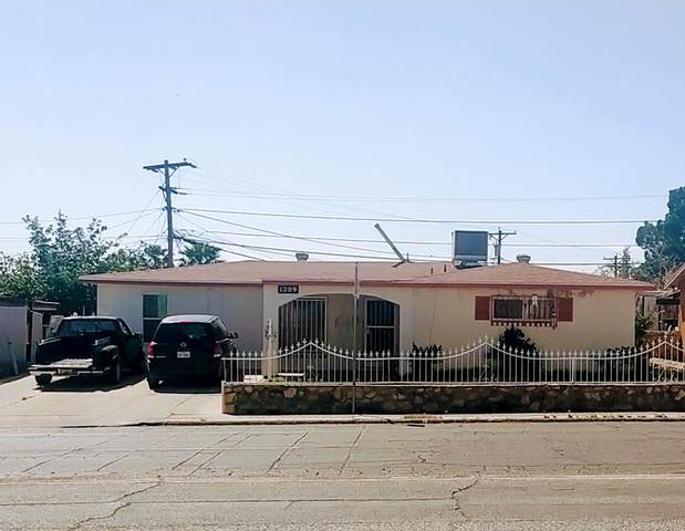 1209 Lomaland Drive, El Paso, TX 79907 (MLS #826112) :: Preferred Closing Specialists