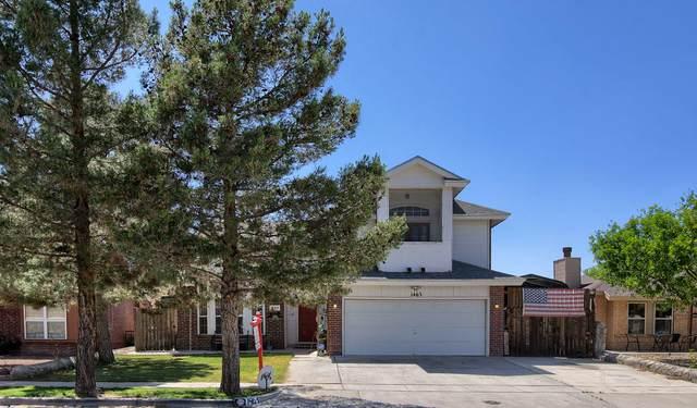 1463 Rudy Montoya Drive, El Paso, TX 79936 (MLS #827070) :: Preferred Closing Specialists