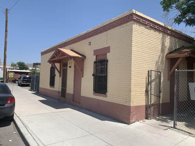 812 S Oregon Street, El Paso, TX 79901 (MLS #827558) :: Mario Ayala Real Estate Group