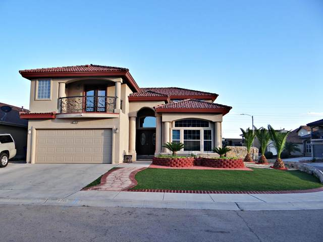 7736 Bartlett Landing Court, El Paso, TX 79912 (MLS #828226) :: The Matt Rice Group