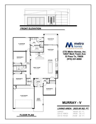 12547 New Dawn Drive, El Paso, TX 79938 (MLS #828600) :: Preferred Closing Specialists