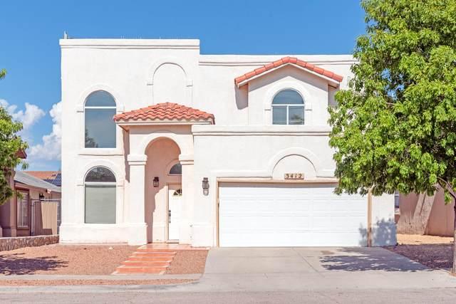 3412 Jan De Roos Place, El Paso, TX 79936 (MLS #829582) :: Mario Ayala Real Estate Group
