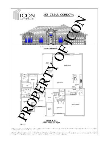 2428 Cesar Cordova, El Paso, TX 79938 (MLS #829725) :: Jackie Stevens Real Estate Group brokered by eXp Realty