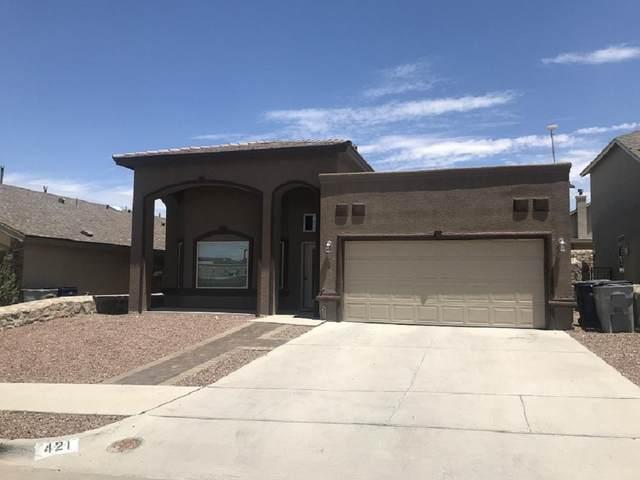421 Bells Corners Avenue, El Paso, TX 79932 (MLS #829904) :: Mario Ayala Real Estate Group