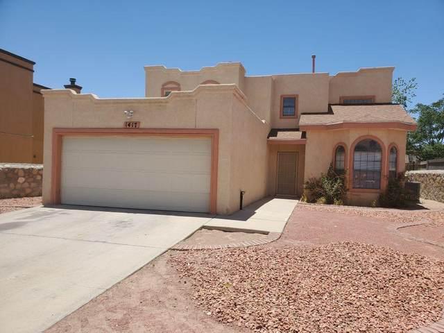 1417 Adolph Carson Place, El Paso, TX 79936 (MLS #829909) :: Mario Ayala Real Estate Group