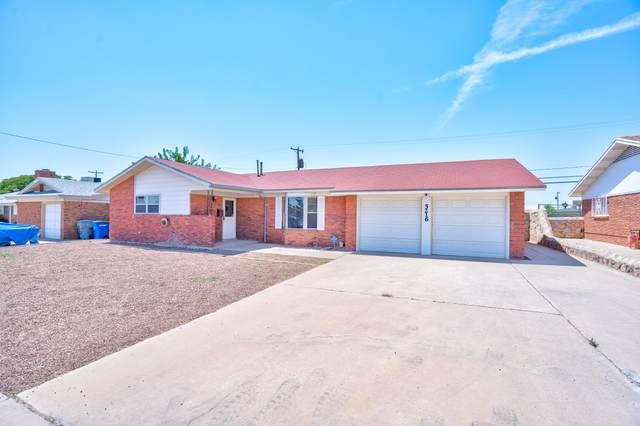 5216 Bastille Avenue, El Paso, TX 79924 (MLS #830182) :: Preferred Closing Specialists