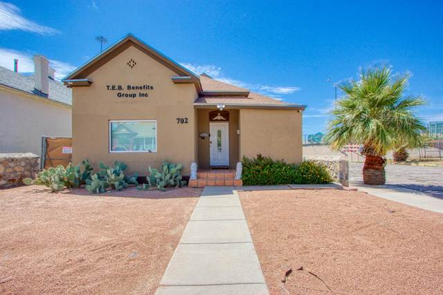 702 Wyoming Avenue, El Paso, TX 79902 (MLS #830204) :: The Purple House Real Estate Group