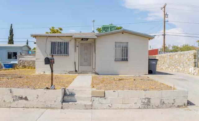 545 Bataan Circle, El Paso, TX 79903 (MLS #830575) :: Preferred Closing Specialists