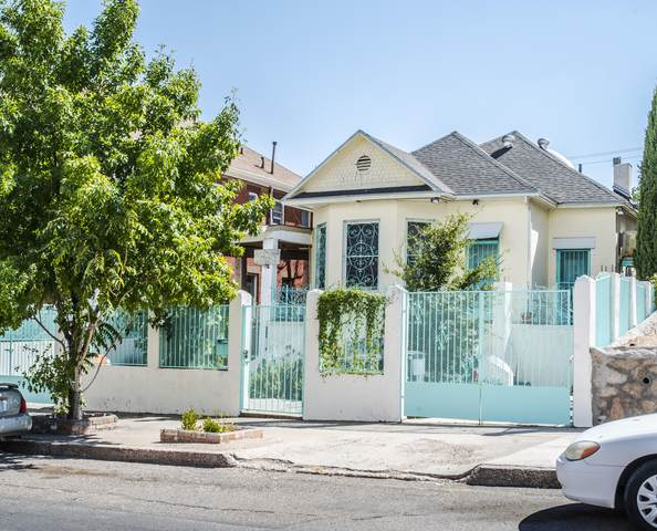 1203 N Laurel Street, El Paso, TX 79902 (MLS #830596) :: Mario Ayala Real Estate Group