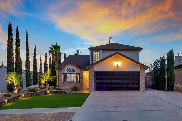 1365 James Dudley Drive, El Paso, TX 79936 (MLS #831334) :: Mario Ayala Real Estate Group