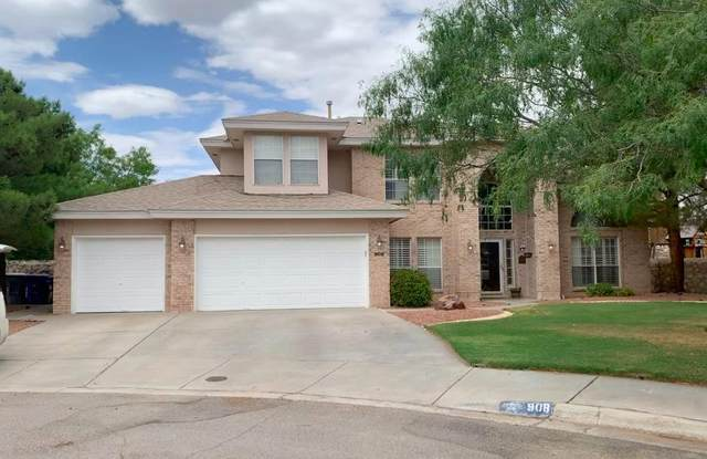 908 Via Redonda Court, El Paso, TX 79912 (MLS #831422) :: The Matt Rice Group