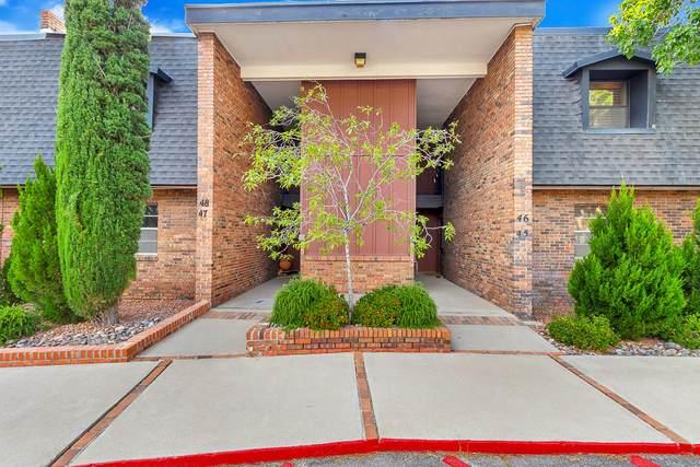 4800 N Stanton Street #46, El Paso, TX 79902 (MLS #831521) :: Mario Ayala Real Estate Group