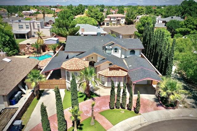 11817 Pueblo Carmel Way, El Paso, TX 79936 (MLS #832005) :: The Matt Rice Group