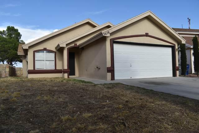 3678 Fiddlewood Circle, El Paso, TX 79936 (MLS #832120) :: Mario Ayala Real Estate Group