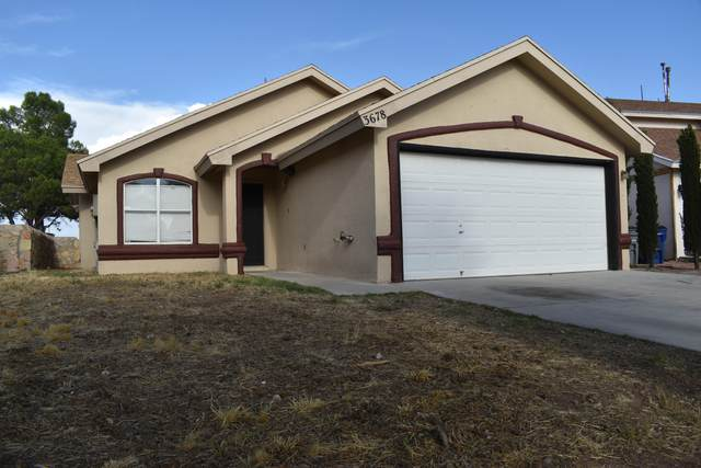 3678 Fiddlewood Circle, El Paso, TX 79936 (MLS #832120) :: The Matt Rice Group