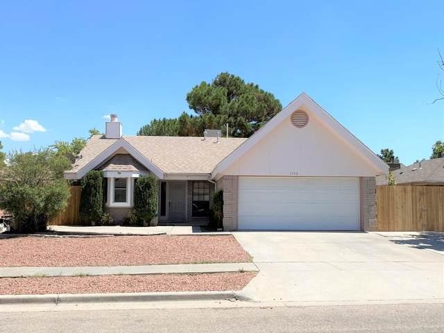 1740 Michael Smith Drive, El Paso, TX 79936 (MLS #832334) :: Preferred Closing Specialists