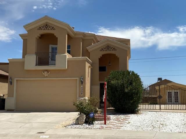 5504 Jim Castaneda Drive, El Paso, TX 79934 (MLS #832335) :: Preferred Closing Specialists