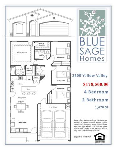 2200 Yellow Valley Road, Socorro, TX 79927 (MLS #832467) :: Mario Ayala Real Estate Group