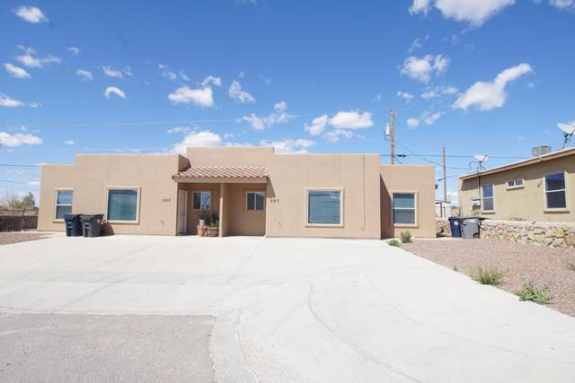 287 Leslie Court, El Paso, TX 79932 (MLS #833263) :: Preferred Closing Specialists