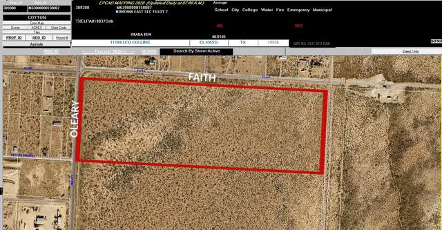 0 Faith Drive, El Paso, TX 79938 (MLS #833323) :: Preferred Closing Specialists
