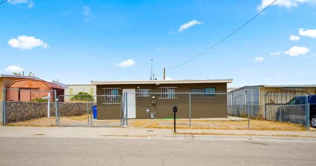 4105 Kaspar Way, El Paso, TX 79904 (MLS #833491) :: The Purple House Real Estate Group