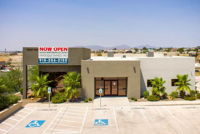 11331 James Watt Drive #100, El Paso, TX 79936 (MLS #833637) :: The Matt Rice Group