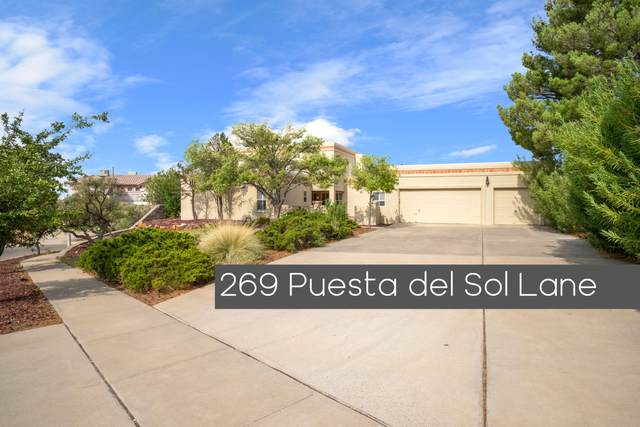 269 Puesta Del Sol Lane, El Paso, TX 79912 (MLS #833855) :: The Matt Rice Group