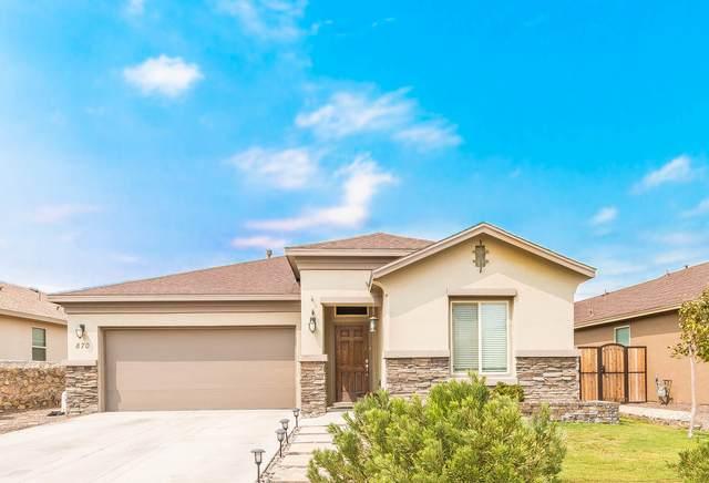 870 Cedar Park Avenue, Santa Teresa, NM 88008 (MLS #833920) :: Mario Ayala Real Estate Group