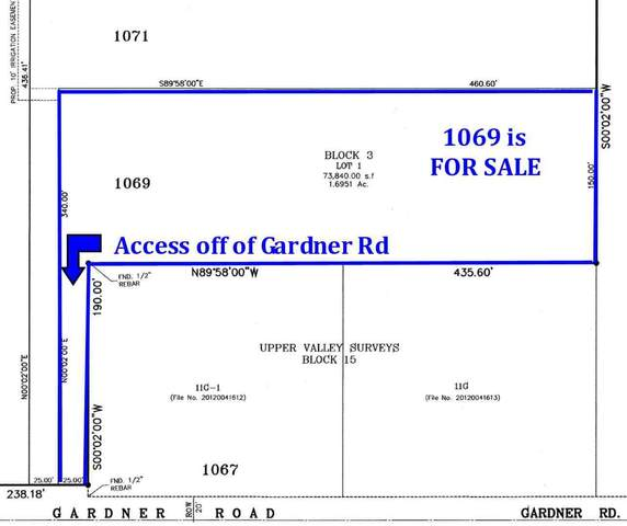 1069 Gardner Road, El Paso, TX 79932 (MLS #833967) :: The Matt Rice Group