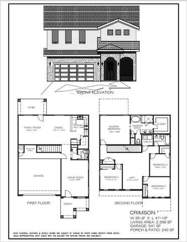 13432 Emerald Ranch Lane, El Paso, TX 79928 (MLS #834026) :: Mario Ayala Real Estate Group
