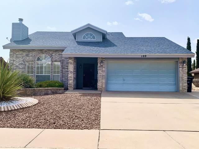 109 Lago Lindo Drive, Horizon City, TX 79928 (MLS #834230) :: The Matt Rice Group