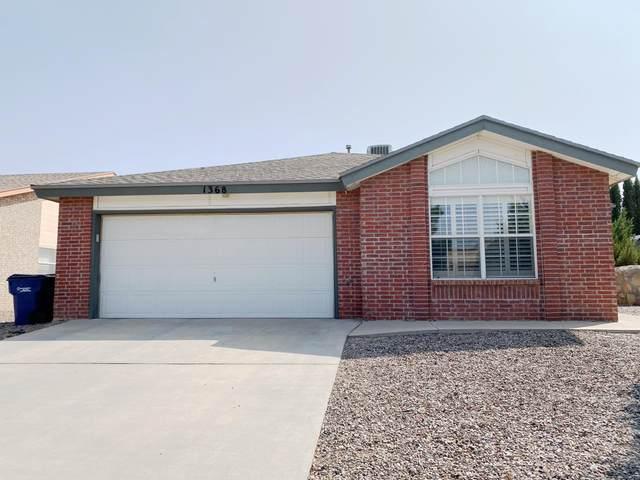 1368 Amber Morgan Drive, El Paso, TX 79936 (MLS #834292) :: Mario Ayala Real Estate Group