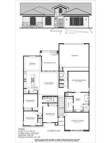 2872 Mike Price, El Paso, TX 79938 (MLS #834529) :: Jackie Stevens Real Estate Group brokered by eXp Realty