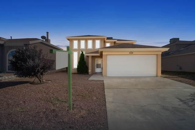 5324 Lucio Moreno Drive, El Paso, TX 79934 (MLS #834550) :: Jackie Stevens Real Estate Group brokered by eXp Realty