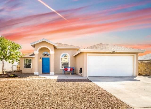 7982 Starry Night Drive, El Paso, TX 79932 (MLS #834649) :: Preferred Closing Specialists