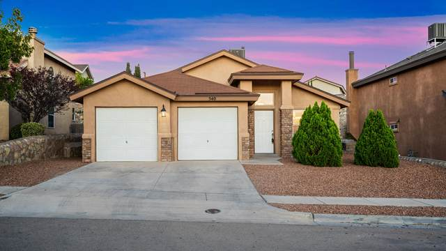 540 Fortenberry Place, El Paso, TX 79928 (MLS #834730) :: Jackie Stevens Real Estate Group brokered by eXp Realty
