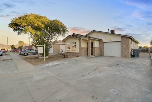644 Esmeralda Armendariz Avenue, El Paso, TX 79932 (MLS #834869) :: Preferred Closing Specialists