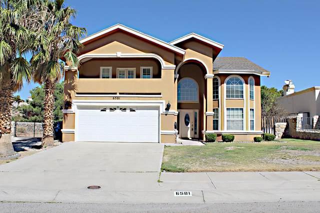 6581 Isla Del Rey Drive, El Paso, TX 79912 (MLS #834904) :: Jackie Stevens Real Estate Group brokered by eXp Realty