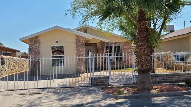 384 Montreal Circle, El Paso, TX 79927 (MLS #835056) :: Preferred Closing Specialists