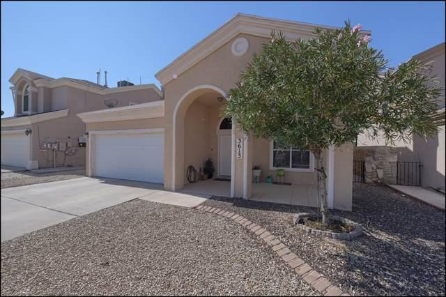 3613 E Vitex Circle, El Paso, TX 79936 (MLS #835396) :: Jackie Stevens Real Estate Group brokered by eXp Realty