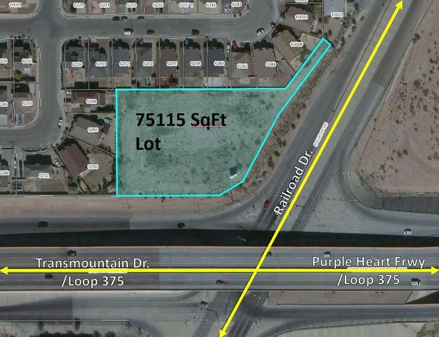 TBD Railroad, El Paso, TX 79924 (MLS #835509) :: The Purple House Real Estate Group