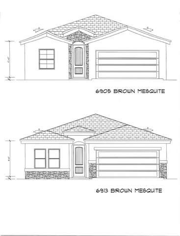 6905 Brown Mesquite Drive, El Paso, TX 79934 (MLS #835625) :: Jackie Stevens Real Estate Group brokered by eXp Realty