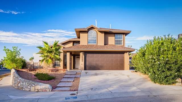 1301 Blueberry Court, El Paso, TX 79936 (MLS #835801) :: Mario Ayala Real Estate Group